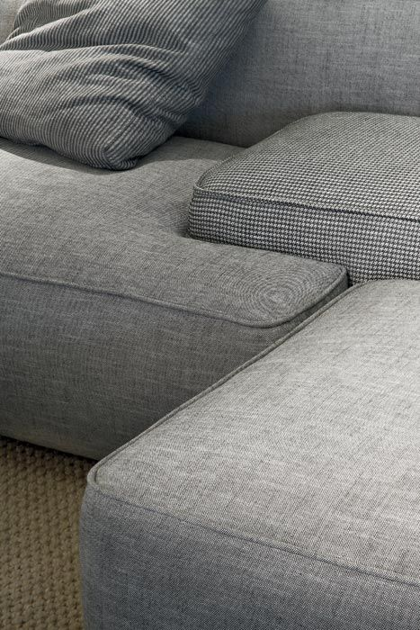 LEMA | CLOUD by Francesco Rota is a sofa designed as a big unit game, combining free and organic shapes, matched or opposed offering original solutions suitable for domestic living rooms but also for wide contract spaces.