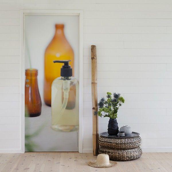 Decal for the bathroom door – Bath Bottle, FormatDesign