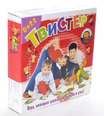 Твистер - игра, которая завяжет вас в узел. 47$