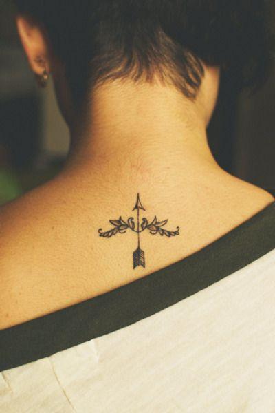Saggitarius tattooTattoo Ideas, Arrow Tattoos, Tattoo Pattern, Arrows Tattoo, Neck Tattoo, Back Tattoo, A Tattoo, Tattoo Design, Sagittarius Tattoo