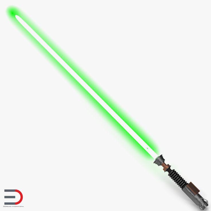 Star Wars Luke Skywalker Lightsaber Used 3d model #StarWars #Luke #Skywalker #Lightsaber #3d #model http://www.turbosquid.com/3d-models/3d-star-wars-luke-skywalker/982848?referral=3d_molier-International