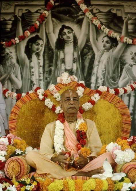 """""""Lord Caitanya said that one who is master in the science of Krishna consciousness, regardless of his social position, is the real spiritual master."""""""