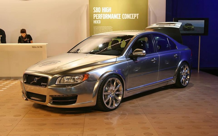 Volvo S80 Chrome , I  love mine  and although my color is not chrome it is a beautiful steel grey
