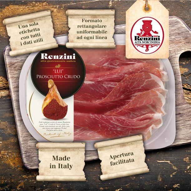 Avete provato la nostra Alta Norcineria in vaschetta? Tanti vantaggi, praticità e la stessa qualità #renzini al supermercato!