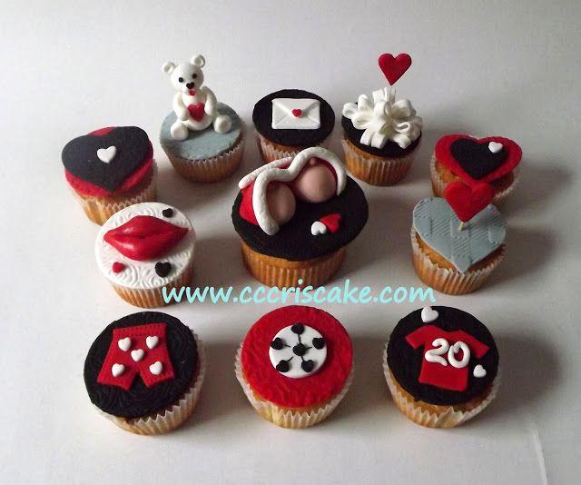 Torturi artistice: Love - cupcakes