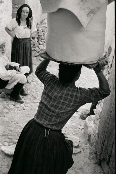 Orgosolo, Sardegna - Italy in black and white