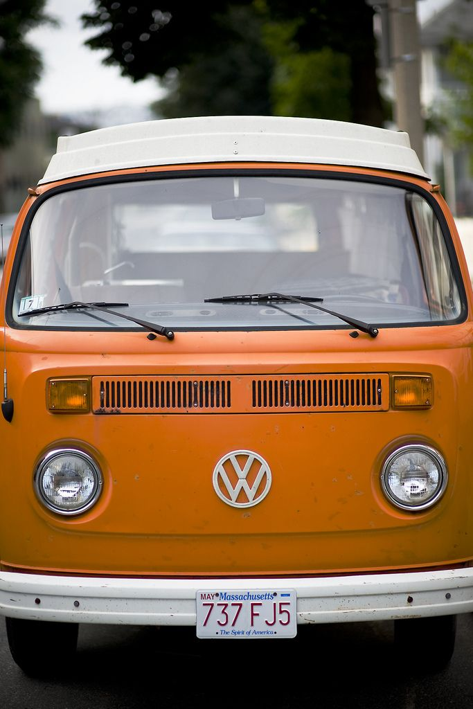 Back in the seventies...a pop top VW camper