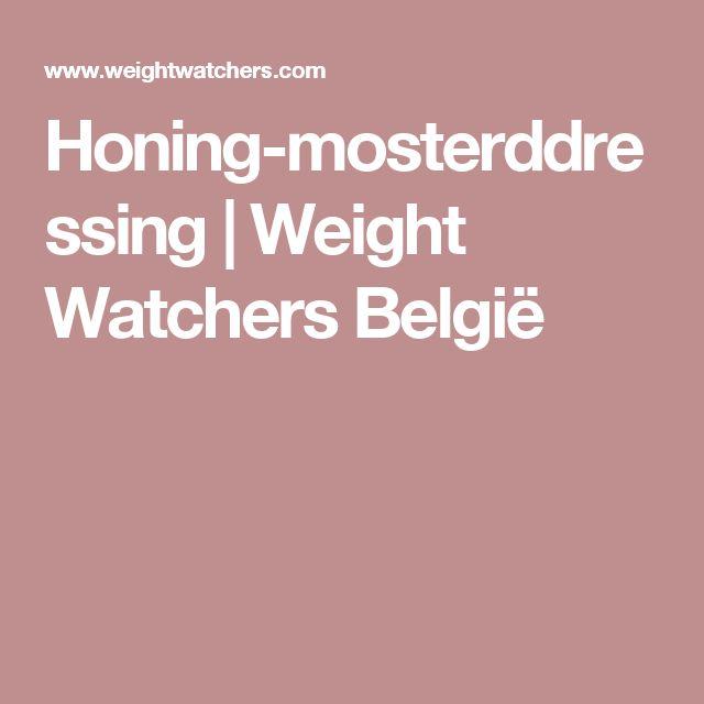 Honing-mosterddressing | Weight Watchers België