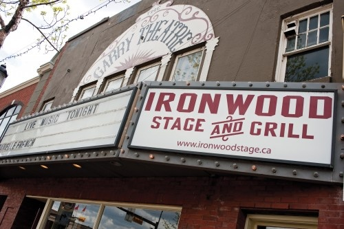 Ironwood Stage and Grill in Calgary - a live music gem tucked away over in Inglewood!