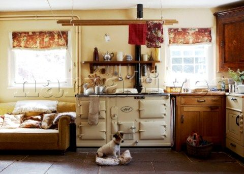 What is this floor i like it ideas for the home for Aga kitchen design ideas