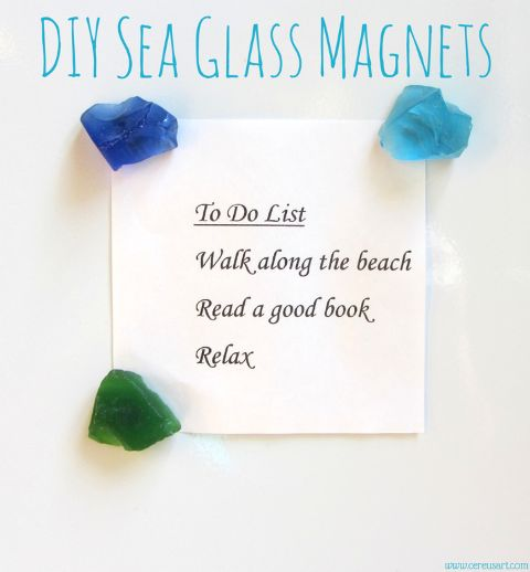 How To Make Magnet Boards with a Coastal Theme