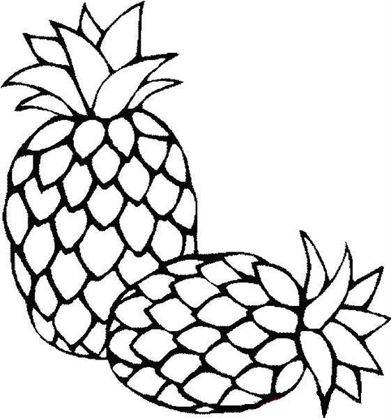 обвиняют ананас раскраска для малышей мало кто знает