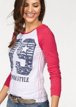 Tričko s dlouhým rukávem, AJC #avendro #avendrocz #avendro_cz #fashion #bestseller #shirt