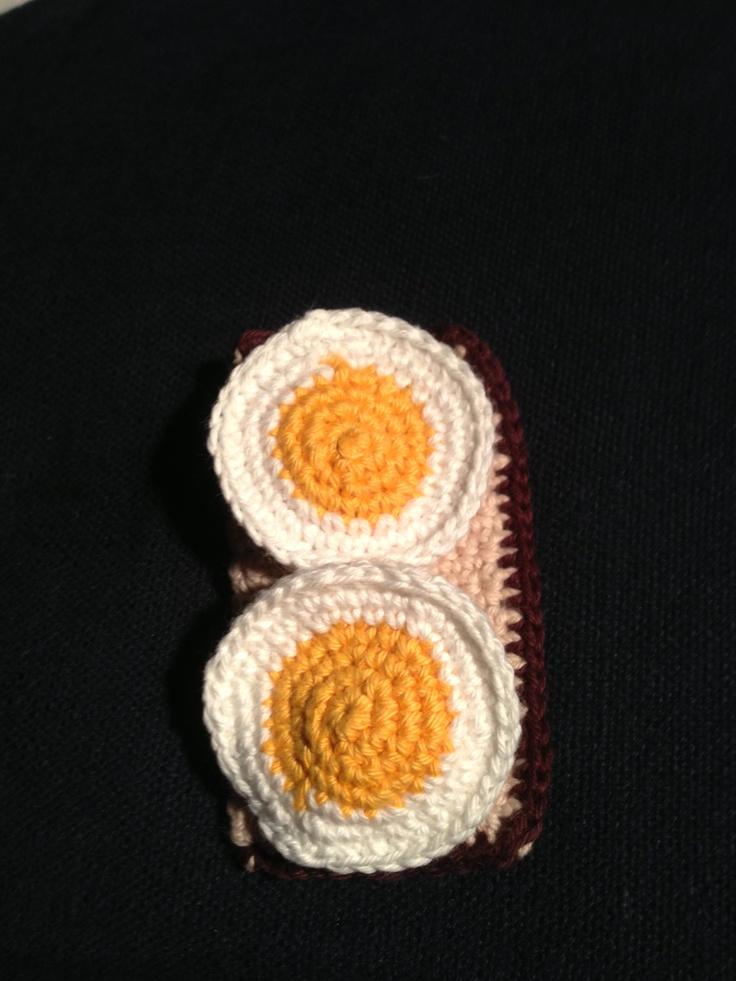 Hæklet æggemad