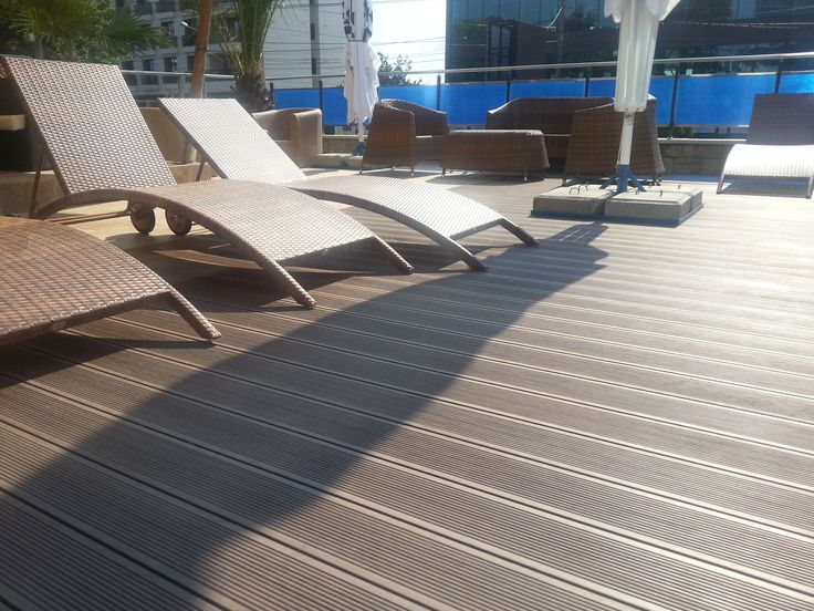 wpc floor tiles design for terrace