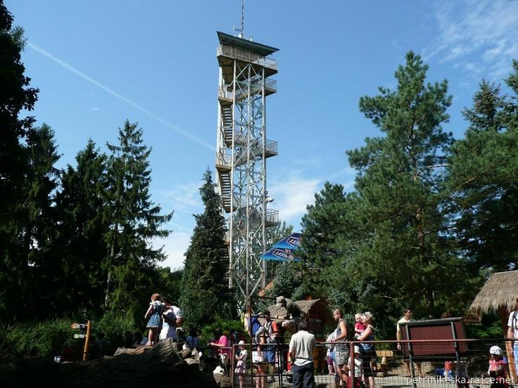 Vyhlídková věž v ZOO Olomouc (Czech)