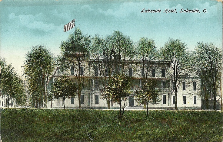 Lakeside Hotel Published By Alexander Ohio In Antique Postcards Pinterest