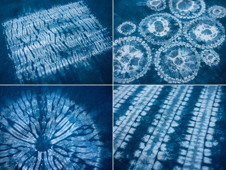 shibori patterns fabric dyeing printing pinterest