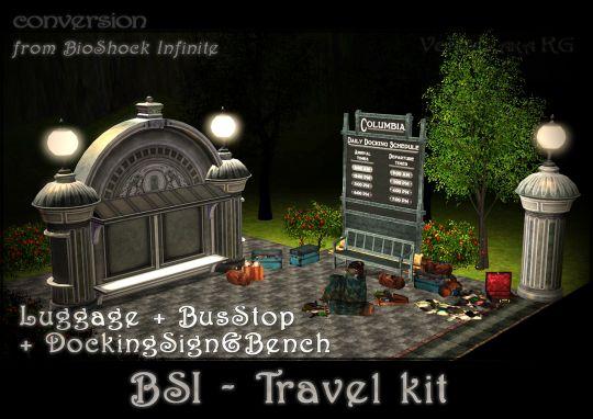 My sims 3 finds // veritas-aka-kg: BSI - Travel kit [DOWNLOAD] ...