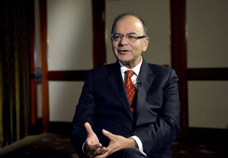 Arun Jaitley on March 30