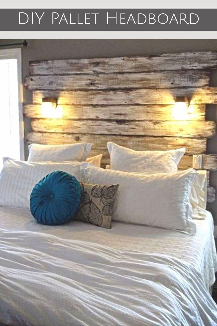Best 25 Wood Pallet Headboards Ideas On Pinterest