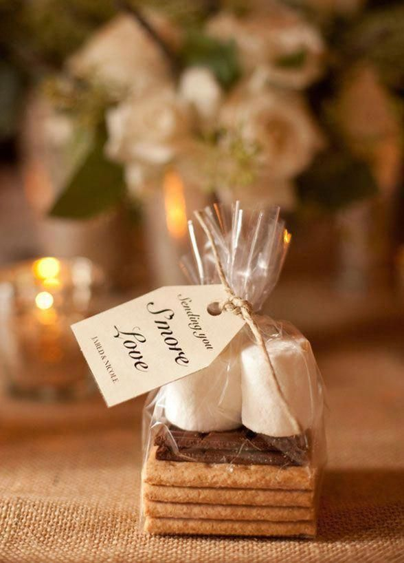 Wedding Thank You Gifts For Guests Ideas Fun Wedding Giveaways Cheap Creative Wedding Fav Smores Wedding Favors Winter Wedding Favors Unique Wedding Favors