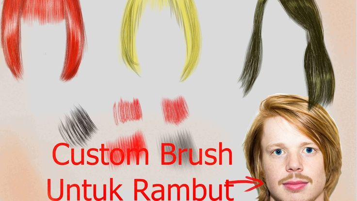 Manga Studio 5 Ex/ Clip Studio Paint : Custom Brush Untuk Rambut