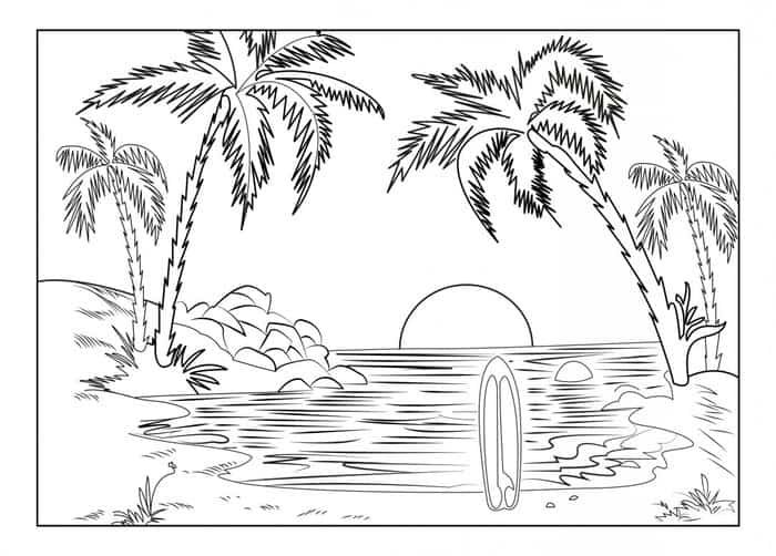 Pin On Nature Coloring Pages