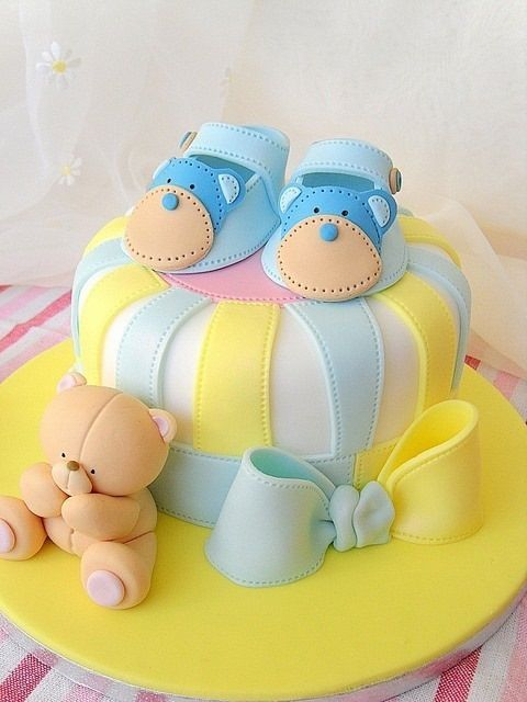 gteau shower de bb baby shower cake