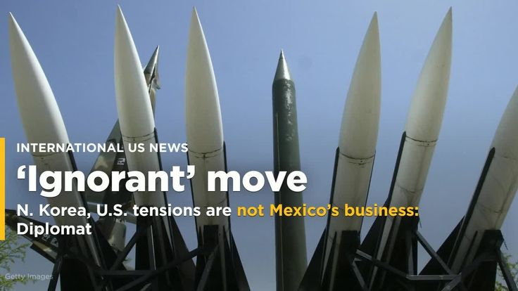 2017-09-09 21:24:46  North Korea's ambassador to Mexico on Friday said its tensions with the United States were not Mexico City's business after President Enrique Pena Nieto ordered that he leave the country in protest over Pyongyang's nuclear tests. Source link   - #Busines, #KoreaUS, #Mexico039S, #North, #Tensions, #Us