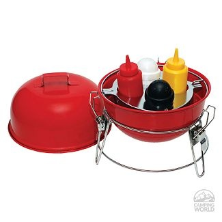 grill accessory caddy, so cute!                                                                                                                                                     More