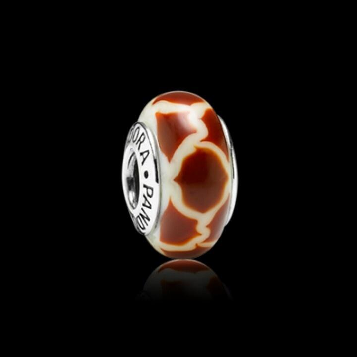 Pandora murano glass giraffe charm hair nails makeup and accesories pinterest jewelry - Safari murano jewelry ...