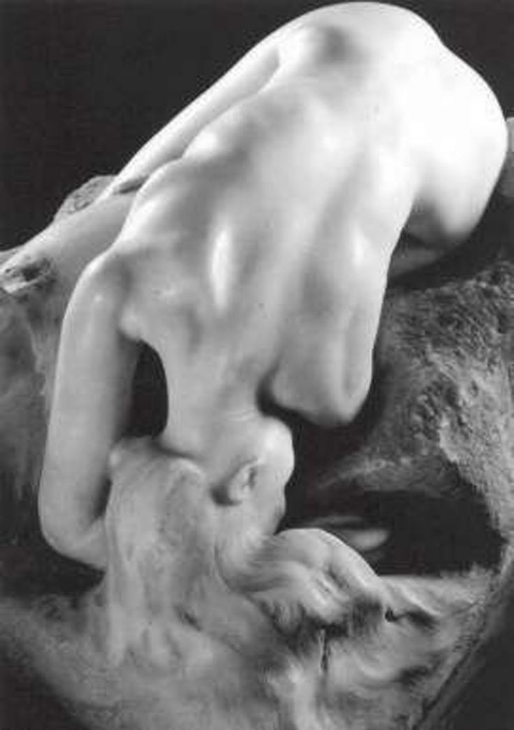 Auguste Rodin: Danaid (1885) in marble. Camille Claudel posed for this piece