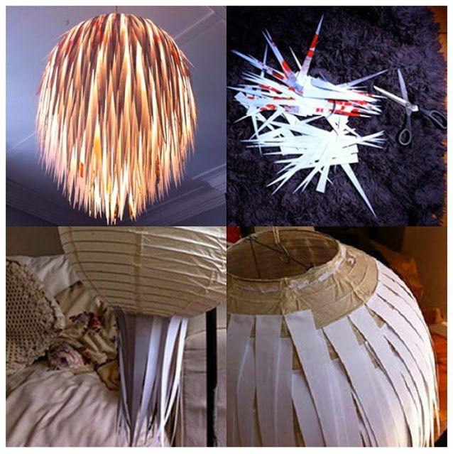 En este post vamos a ver cómo renovar lámparas de papel y crearlas desde cero con materiales sencillos y económicos. Para la mayor parte de las lámparas sólo necesitaremos cartulina o papel de colores. Además también veremos cómo renovar las clásicas lámparas de papel de bola para darles un toque más actual...