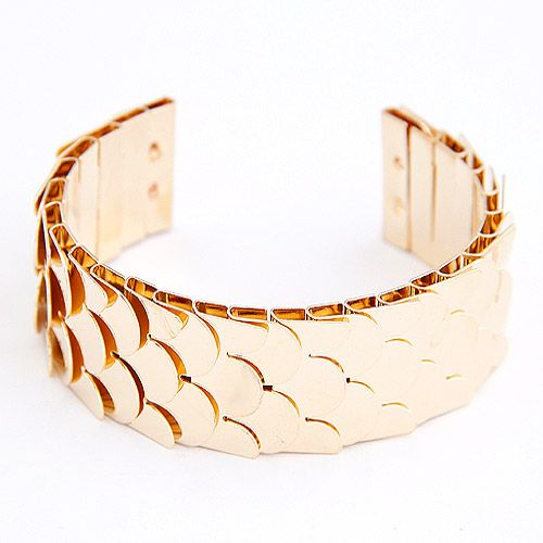 fashion bracelet#gold www.lavaii.pl