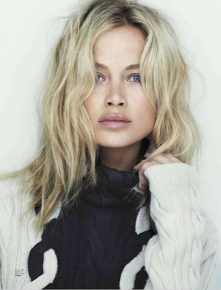 Want this Dior sweater (Carolyn Murphy for Jalouse October 2013 by Alexei Hay)
