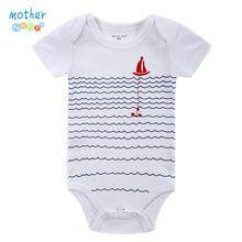 Bodysuit bebê Recém-nascido de Impressão Corpo Terno Do Bebê Moda Verão Crianças Menino Menina Manga Longa Jumpers Bodysuit Infantil Da Criança Do Bebê alishoppbrasil