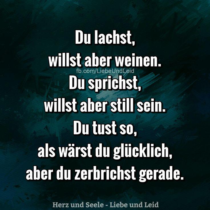Du lachst, willst aber weinen... Besucht uns auch auf ---> https://www.herz-und-seele.eu
