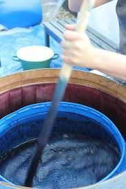 Image result for Celia Geraedts dyeing indigo converses