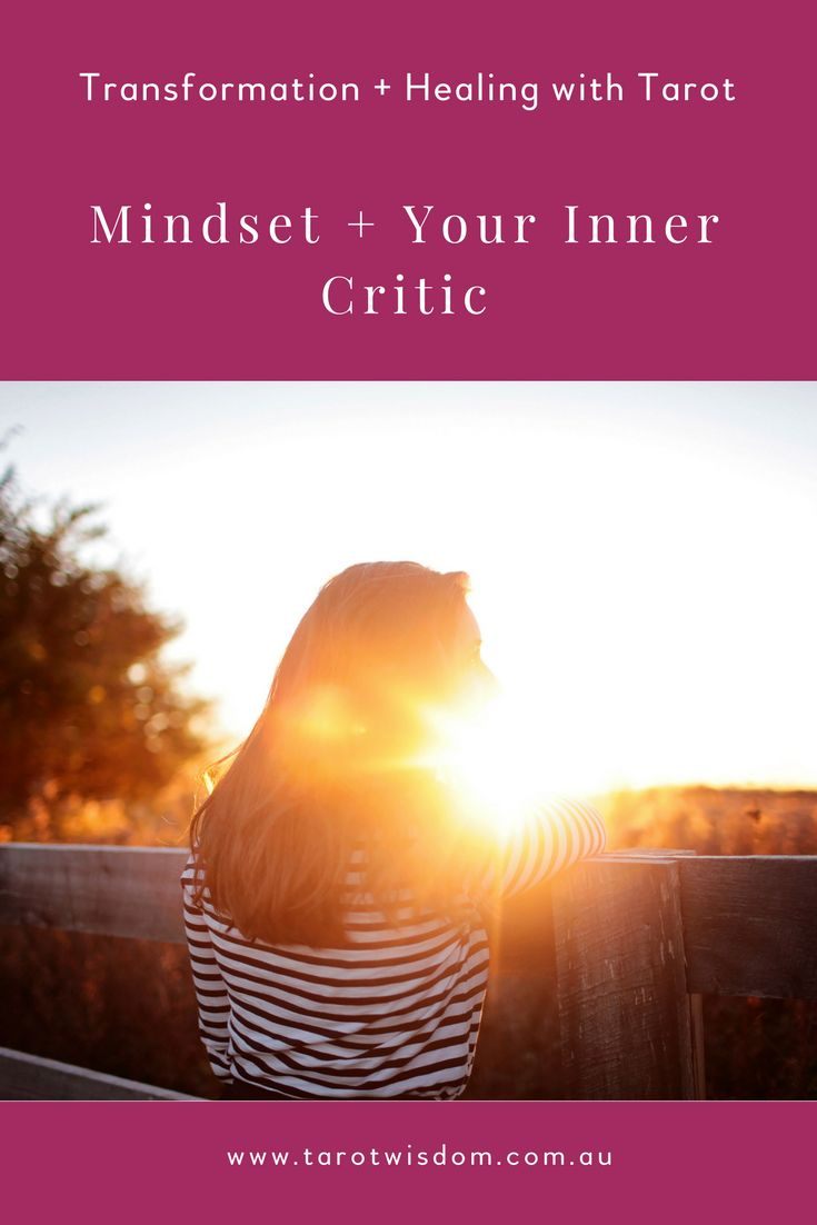 How to change your Mindset + Supress your Inner Critic