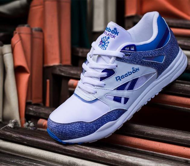 Reebok Ventilator - White / Fearless Purple - Cycle Blue