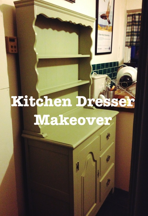 Kitchen Dresser Makeover on Little Stitch Blog