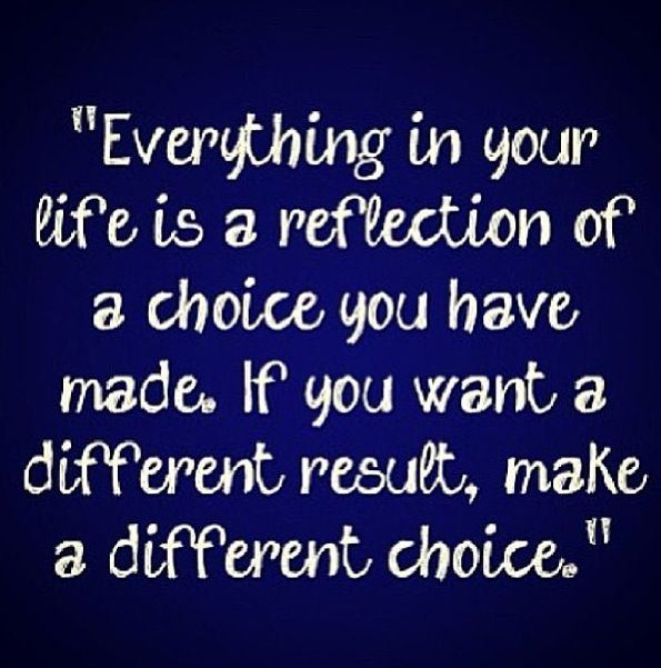 I know you will make the right choices :)