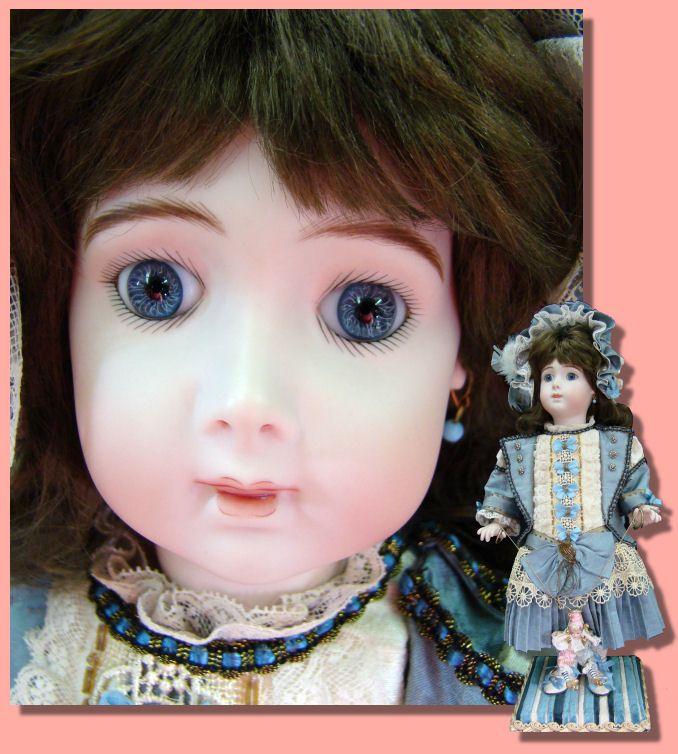 Porcelain Dolls for Sale - Long Face Jumeau Mechanical