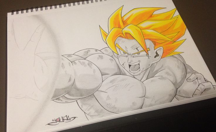 Dragon Ball Z A3  Pencil