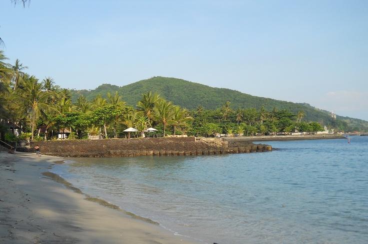 Candi Dasa Beach, East Coast Bali.