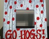 Go Hog frame, $10