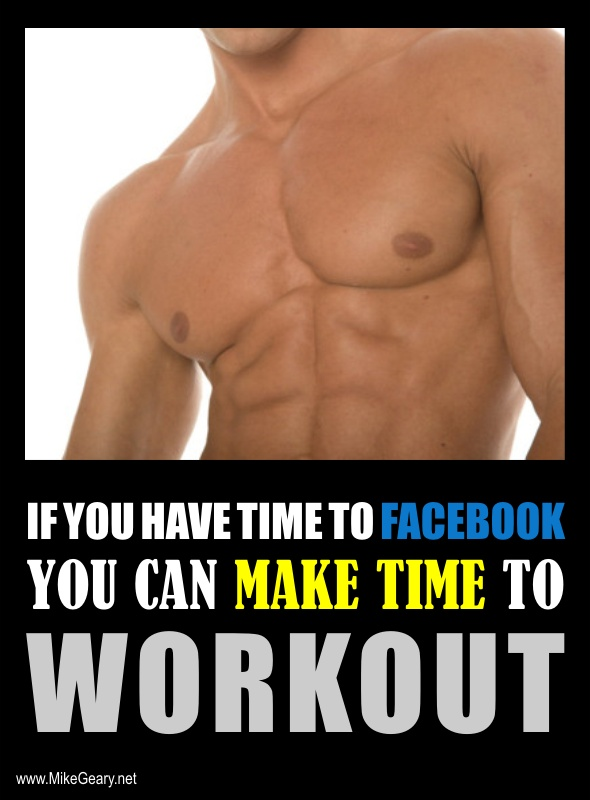 Fantastic Quote!!! Make time to workout and fight against obesity