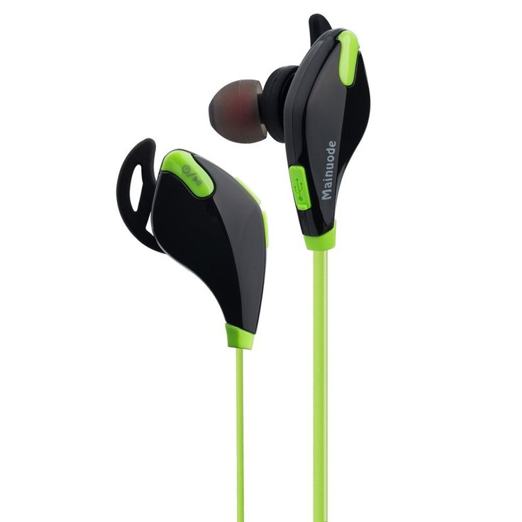 Bluetooth 4.1 and apt-X tech Headphones, Wireless Bluetooth Noise Cancelling Headset Running / Exercise / Sports Earbuds Earphones for Bluetooth Smart Cell phones/Devices. Advanced Technology: With bluetooth 4.1 and apt-X tech, the headphones ensure high-fidelity stereo music and clear speech within 10 meters. Invisible nano-coating technology protect earbuds against sweat during running and workouts. High Quality Guarantee: Noise cancellation makes you enjoy a clear sound in noisy…