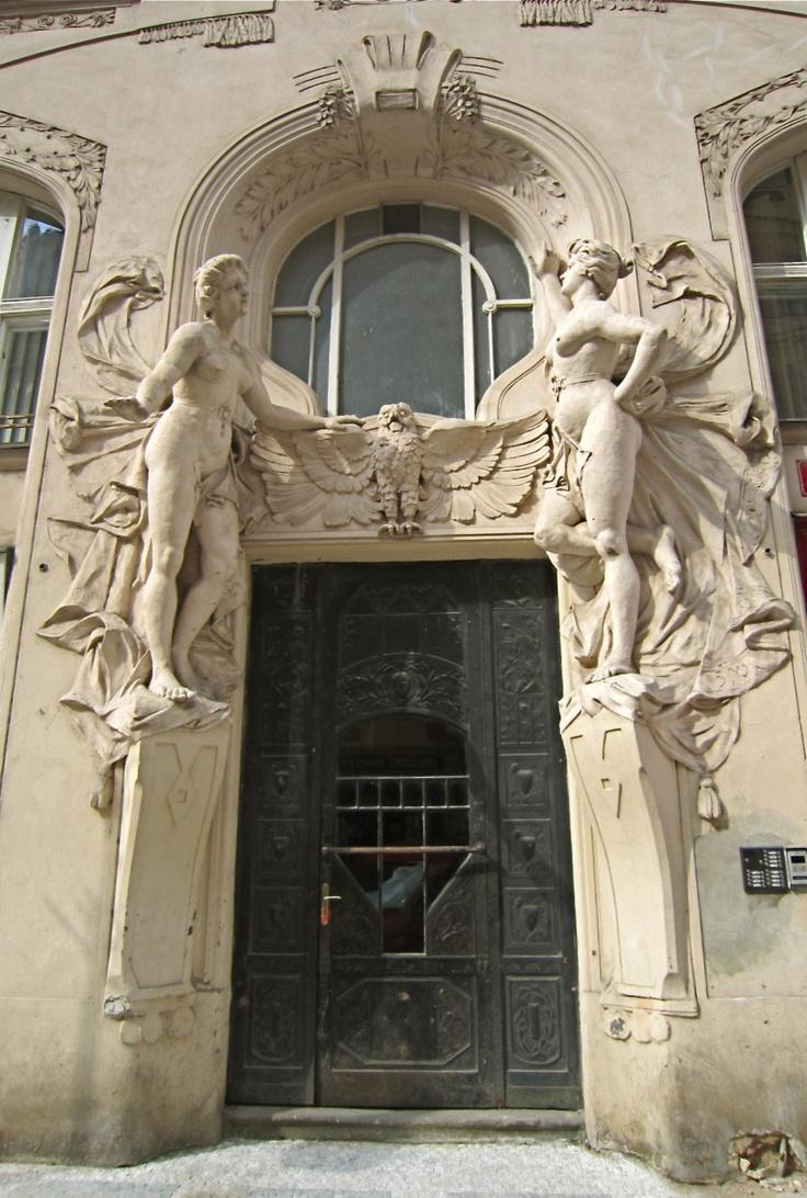Fantastic entry door.: The Doors, Art Nouveau, Entry Doors, Window, Beautiful Doors, Prague Czech Republic, Architecture, Prague Doors, Vintage Doors